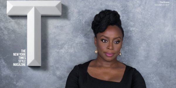 "Chimamanda Ngozi Adichie featured in New York Times ""GREATS"" issue"
