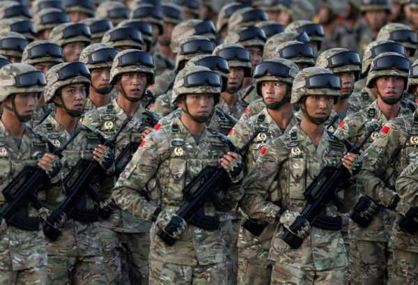 China conducts largest military exercise as troops train to challenge U.S. overseas