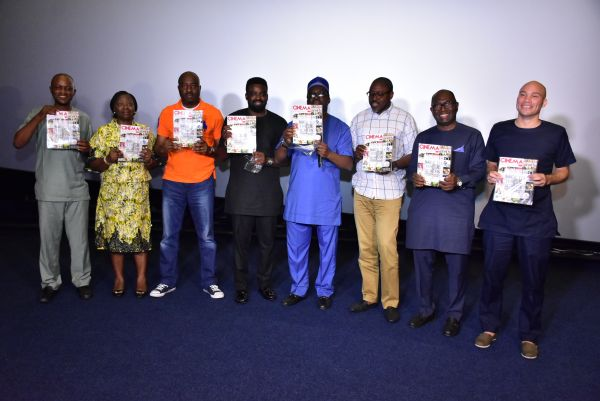 "•The unveiling of ""Cinema in Lagos"" on Friday in Ikeja, Lagos."