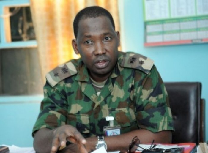 •Acting Director, Army Public Relations, Col. Sagir Musa