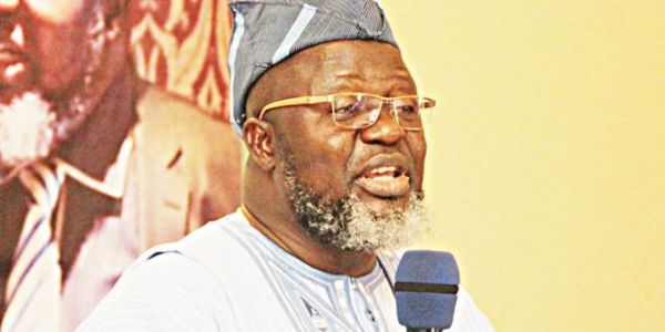 •Communications Minister Adebayo Shittu.