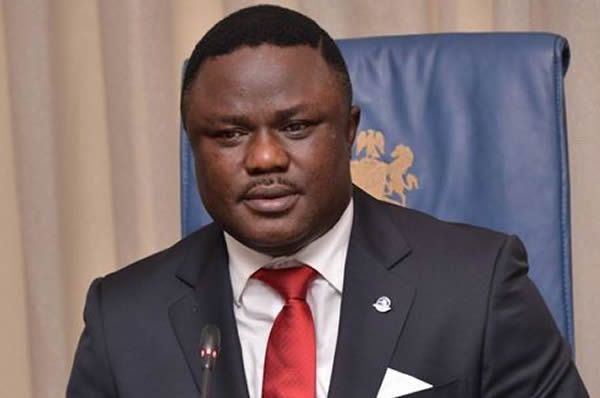 •Cross River State, Prof. Ben Ayade.
