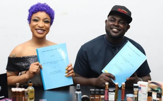 Tonto Dikeh signs N100m cosmetics deal