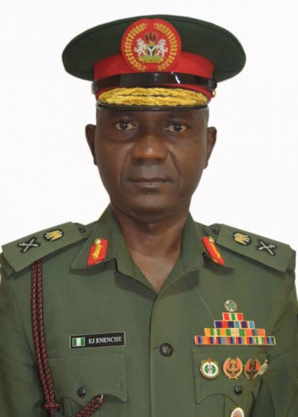 •Defence Spokesman, Major General John Enemche.