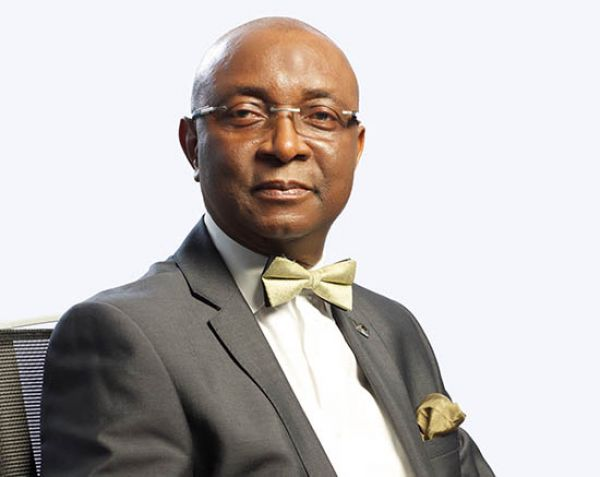 •Diamond Bank Chairman, Dr. Chris Ogbechie.