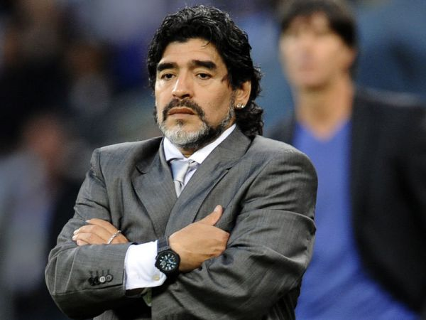 Maradona backs Infantino's proposal to expand World Cup from 32 to 48 teams