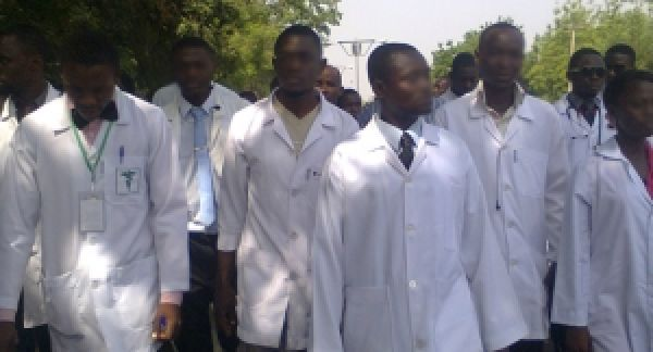 •A cross section of Nigerian medical doctors
