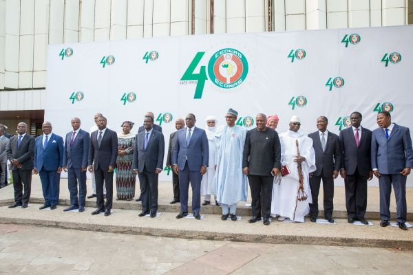 •A cross section of ECOWAS Leaders