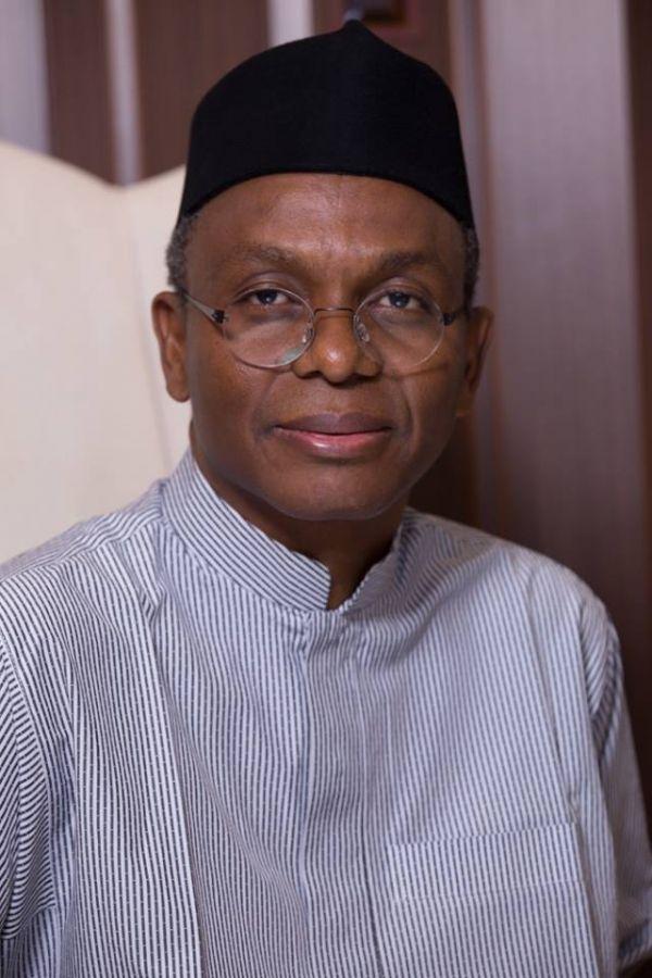 •Governor Nasir el-Rufai of Kaduna State