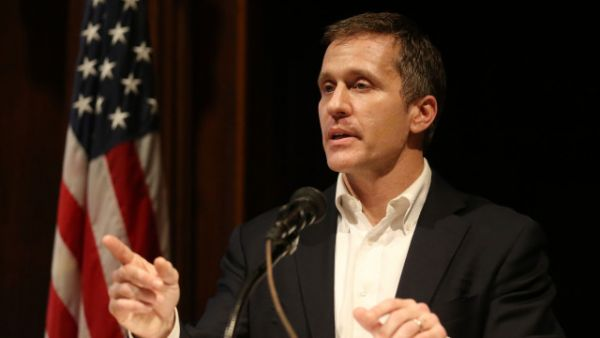 •Embattled Missouri Governor Eric Greitens