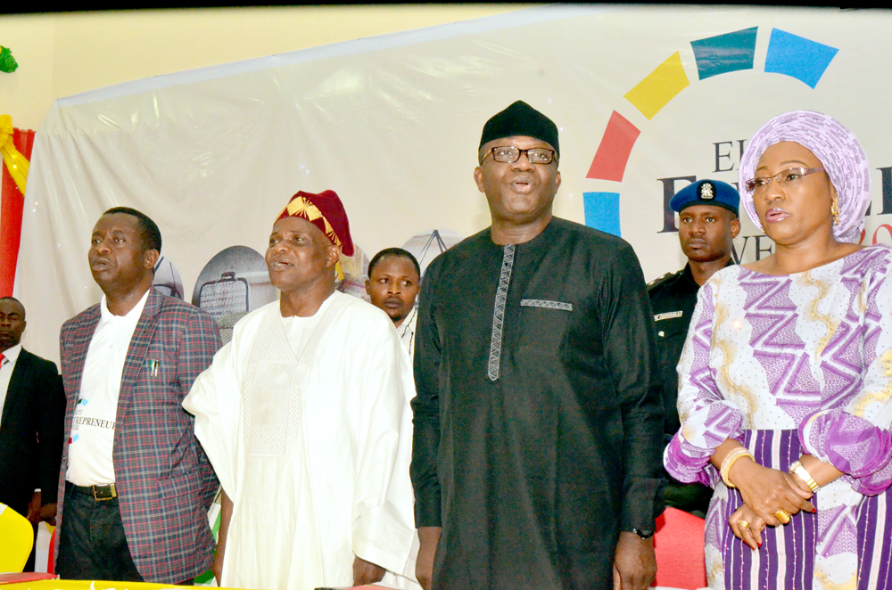 Entrepreneurship panacea to unemployment, national challenges, says Fayemi •Ekiti to invest in 2,000 young entrepreneurs