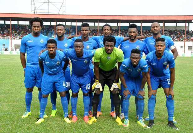 Enyimba line-up