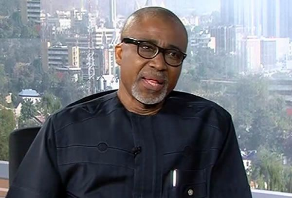•Senate South-East Caucus Chairman Enyinnaya Abaribe