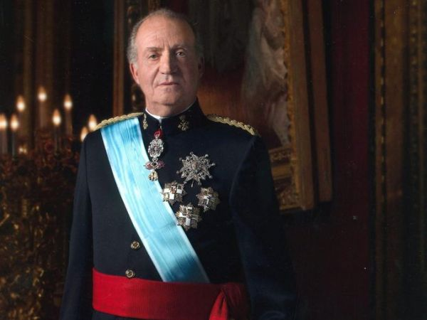•Ex-King of Spain, Juan Carlos.