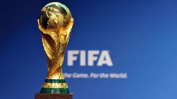 •FIFA World Cup trophy.