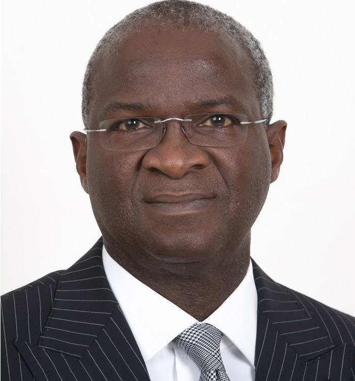 •Minister of Power, Works and Housing, Mr Babatunde Fashola