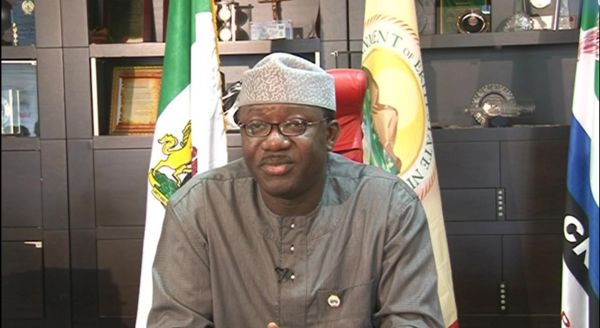 •Minister of Solid Minerals, Dr. Kayode Fayemi