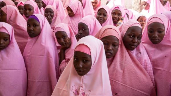 •Some of the student of Dapchi girls school