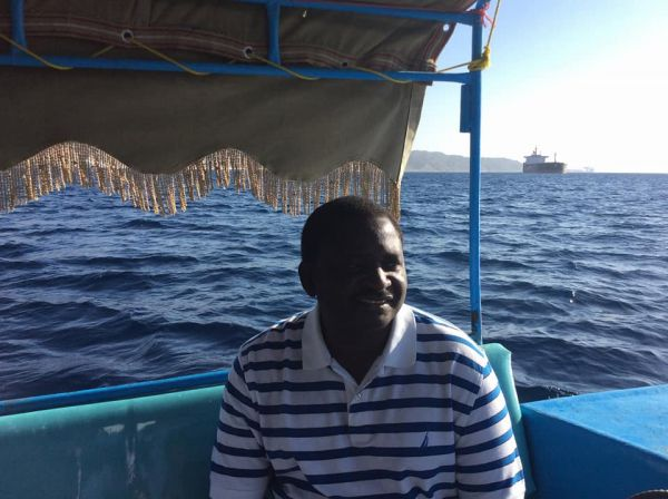 •Femi Adesina in the Red Sea