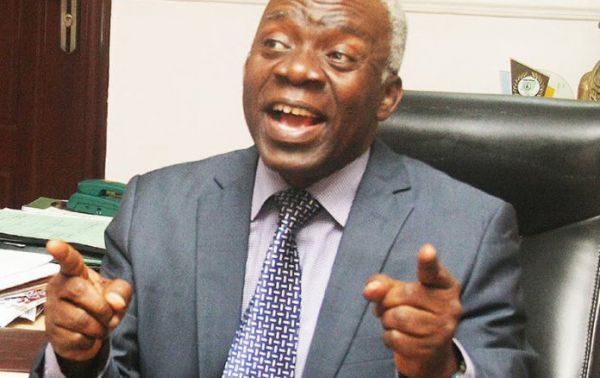 •Foremost human rights lawyer Femi Falana, SAN