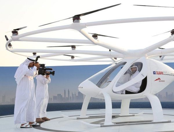 •World's first self-flying taxi