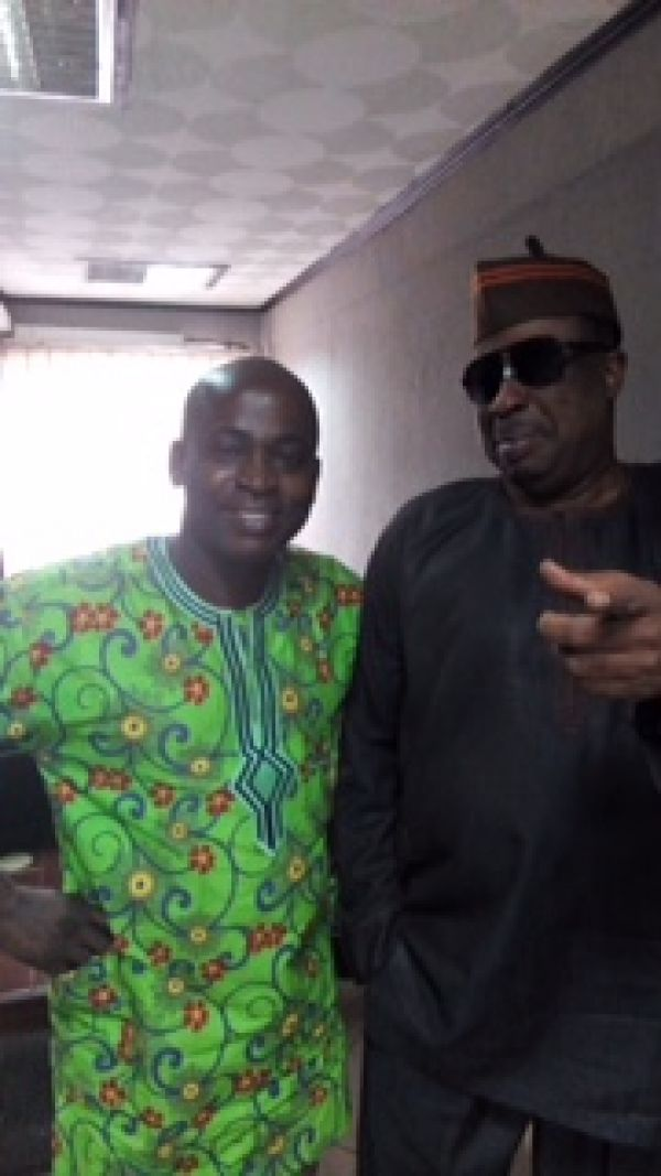 •Friday Olokor and Prof. Adebayo Williams