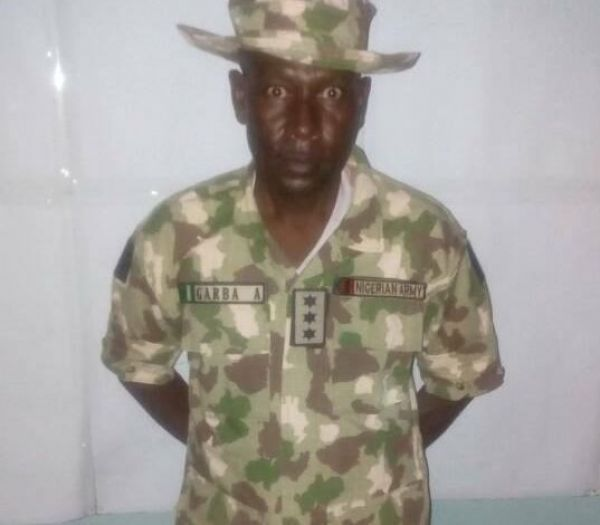 Gallant soldier bags special promotion for 'daring bravery' in war against Boko Haram