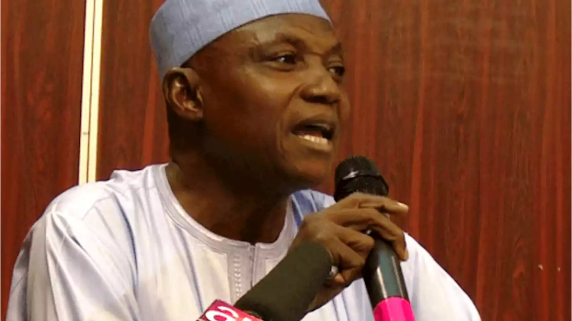 •Senior Presidential Media Aide Garba Shehu
