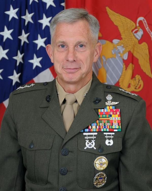 •AFRICOM Commander, General Thomas Waldhauser.