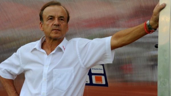 •Super Eagles Technical Adviser, Gernot Rohr.