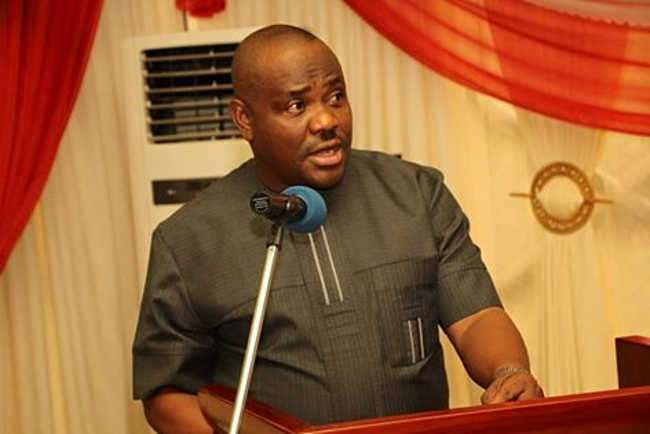 •Governor Wike.