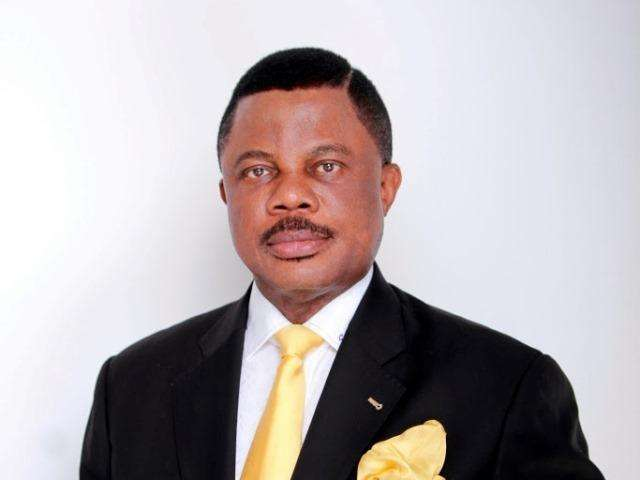 •Anambra State Governor, Willie Obiano