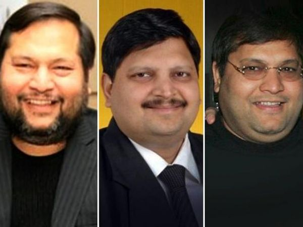 •Billionaire Gupta brothers, Atul, Ajay and Rajesh