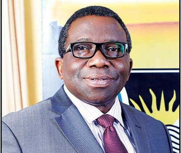 •Minister of Health, Prof. Isaac Adewole