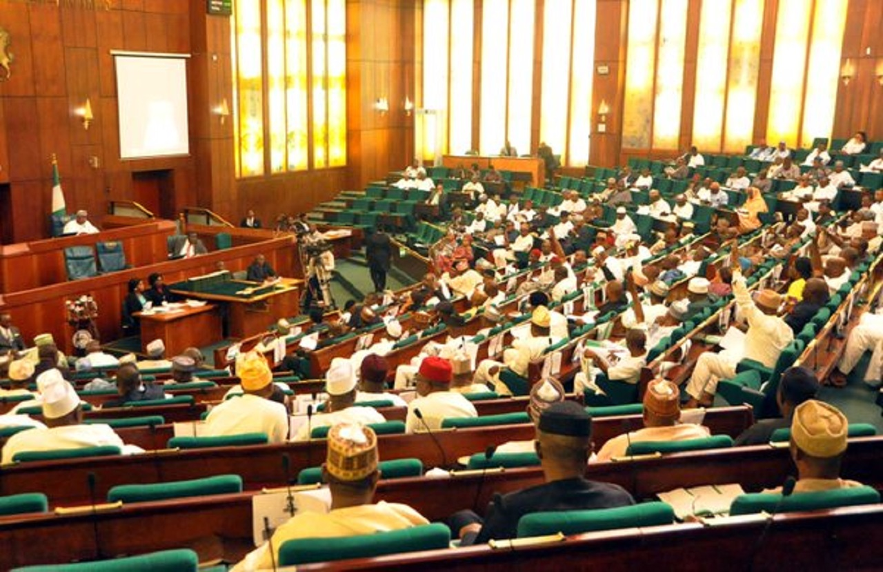 •House of Reps plenary