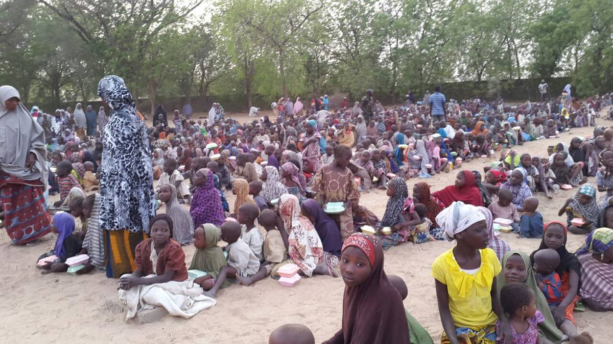 •IDPs in camp