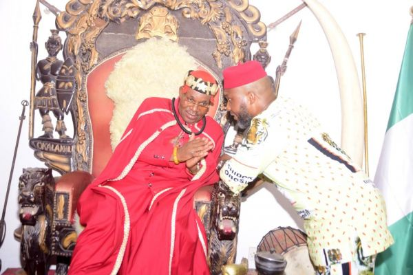 •Chief Chidoka and Igwe Kelly