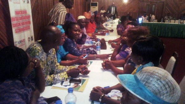 •A cross section of participants at the informal sector workshop held in Lagos.