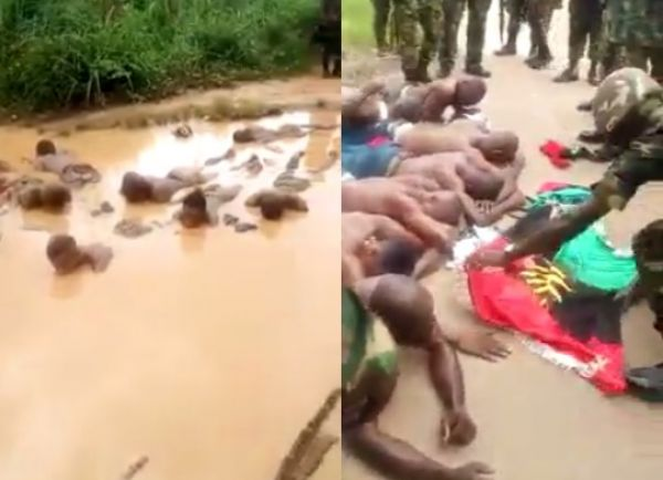 •Operation Python Dance troops torturing IPOB members