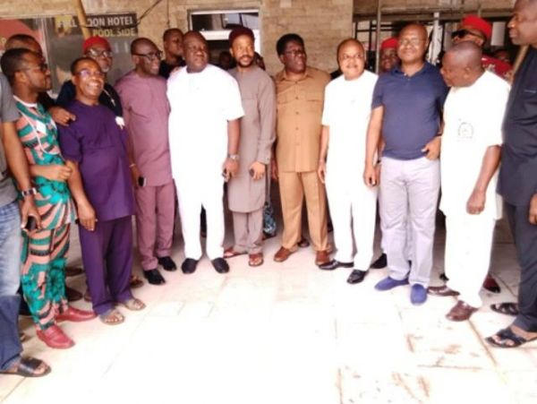 •Imo APC chieftains during last Saturday's Ward congresses