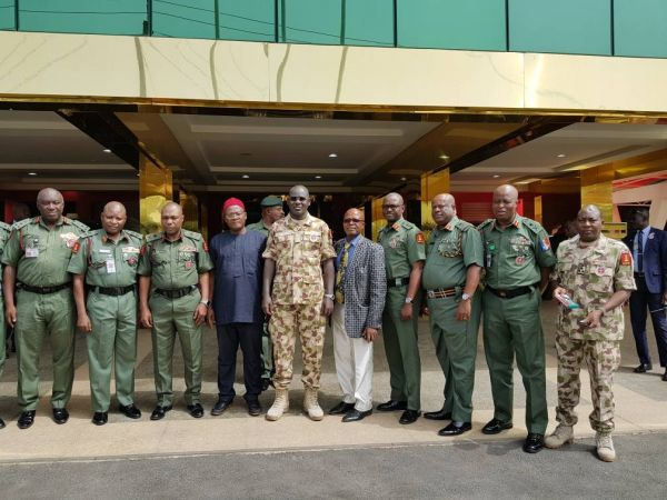 •Innoson and Army chiefs after sealing the deal