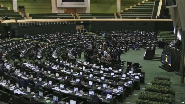 •Iranian Parliament in session
