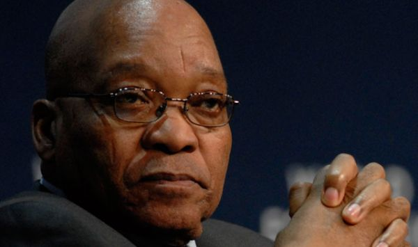 •Embattled outgoing South African President Jacob Zuma