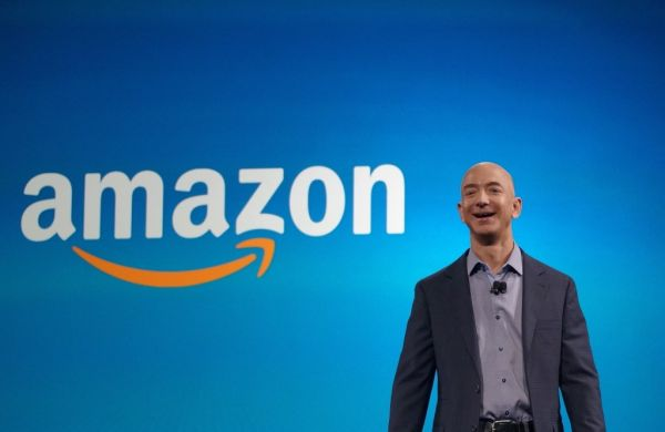 •World's richest man Jeff Bezos.