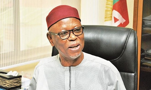 •APC National Chairman, John Odigie-Oyegun