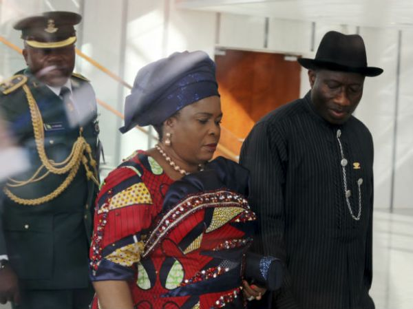 •Ex-President Goodluck Jonathan and wife, Dame Patuence.