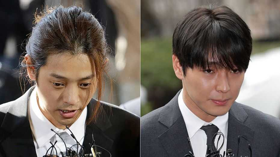 Two K-pop stars get prison terms for rape, spycam crimes