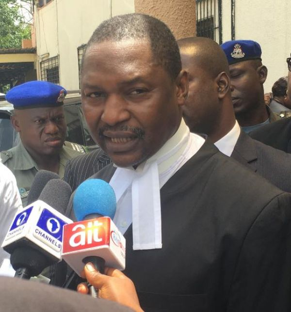 •AGF and Minister of Justice Abubakar Malami, SAN