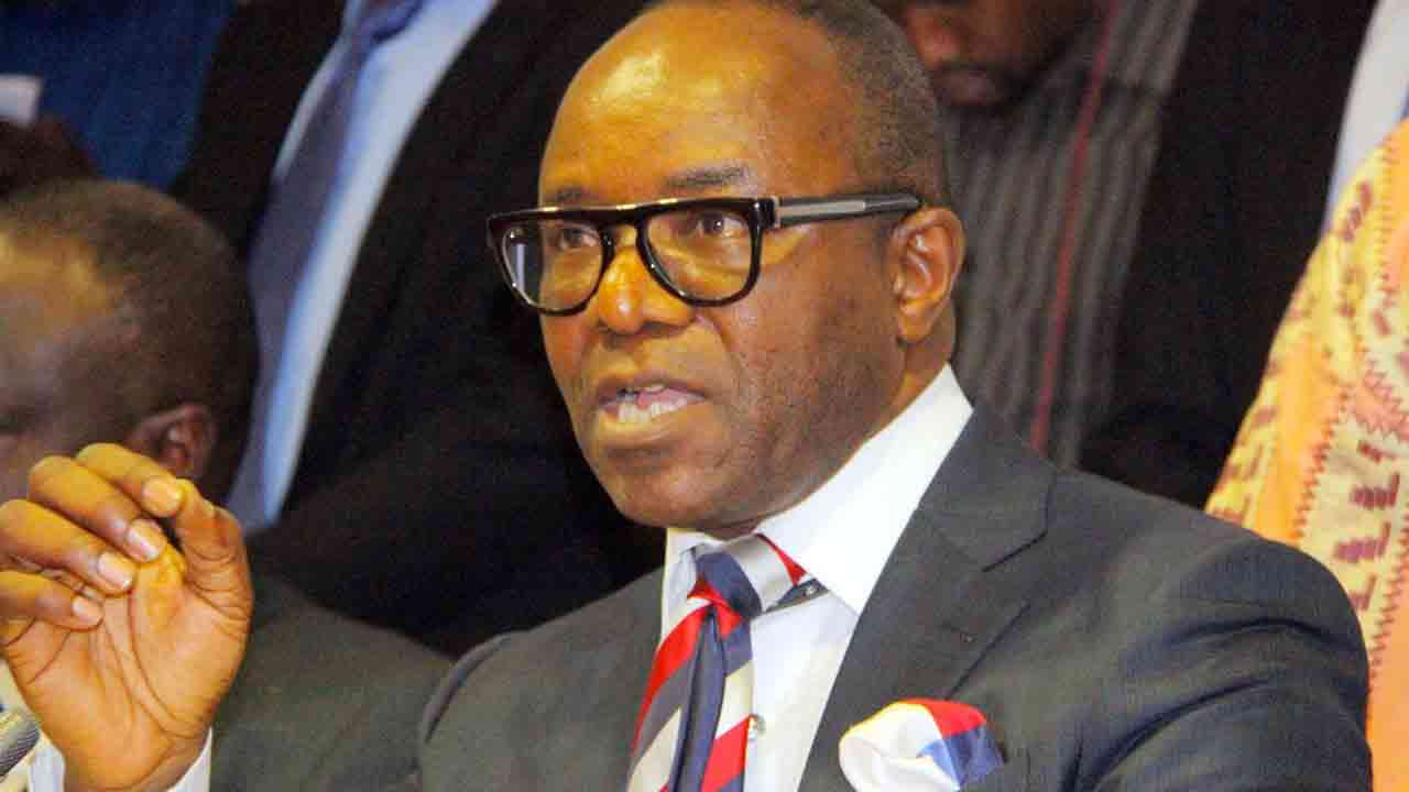 • Minister of State for Petroleum Resources, Ibe Kachikwu
