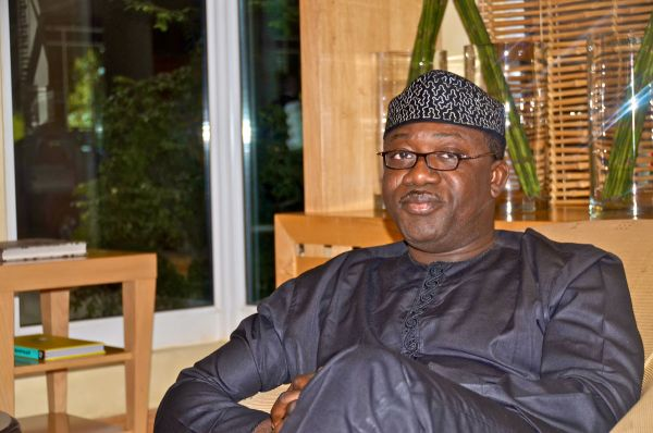 •Minister for Steel and Minerals Resources Development, Kayode Fayemi